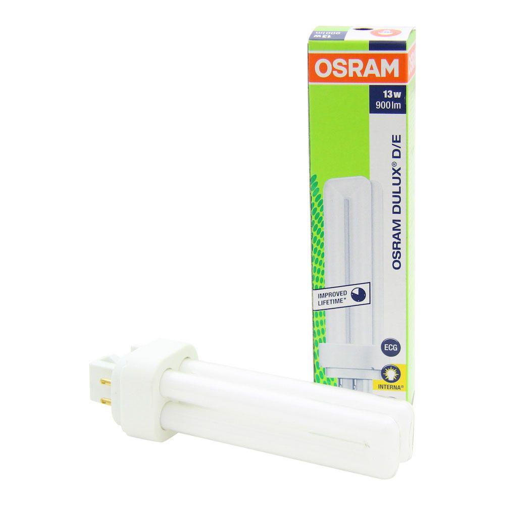 Osram Dulux D/E 13W 827 | Luz muy Cálida - 4-Pines