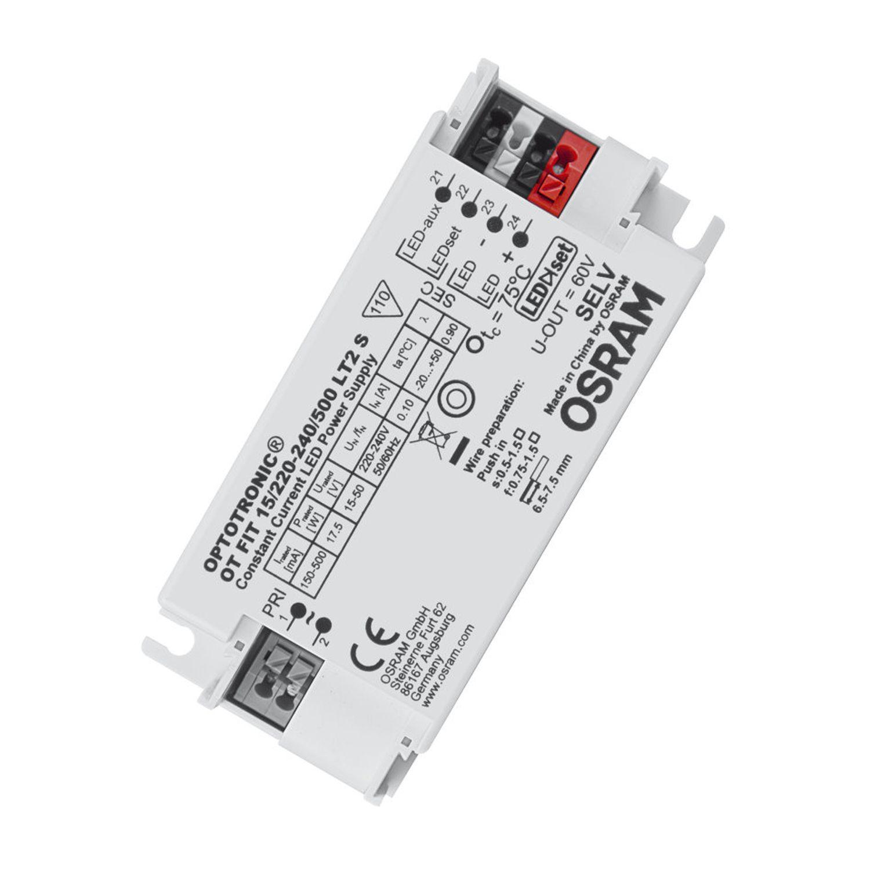 Osram LED Driver OPTOTRONIC 15/220-240/500 LT2 S