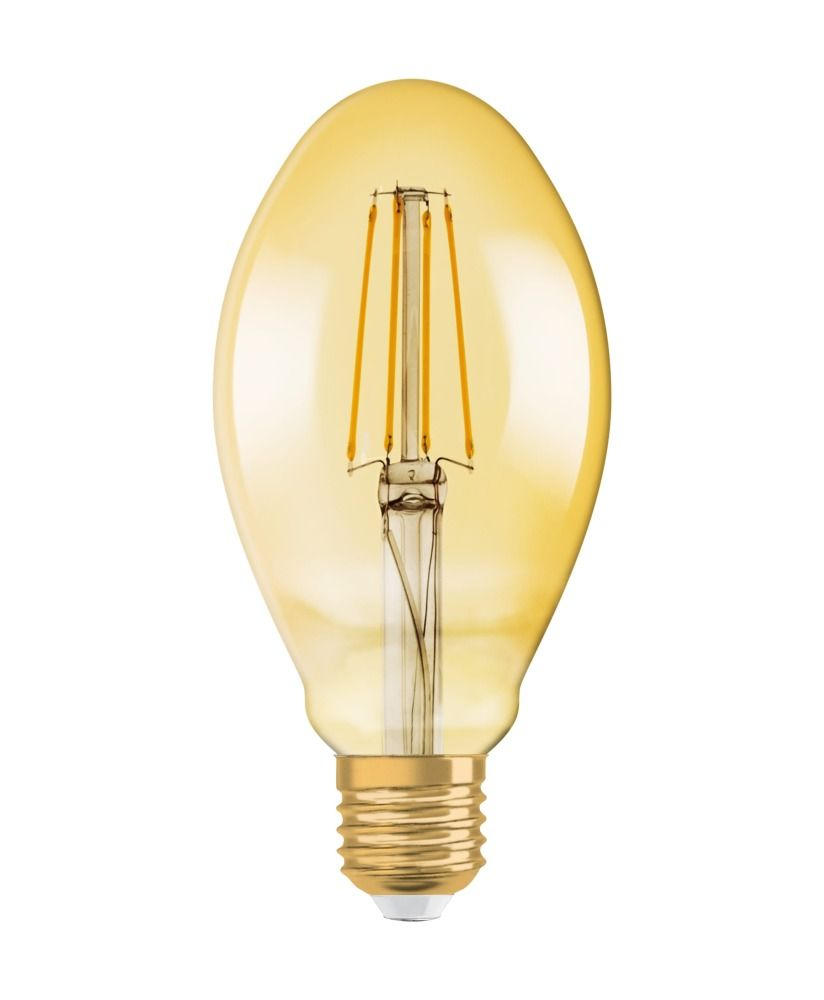Osram Vintage 1906 LED E27 Oval 4.5W 825 Złoty | Zamienne 40W