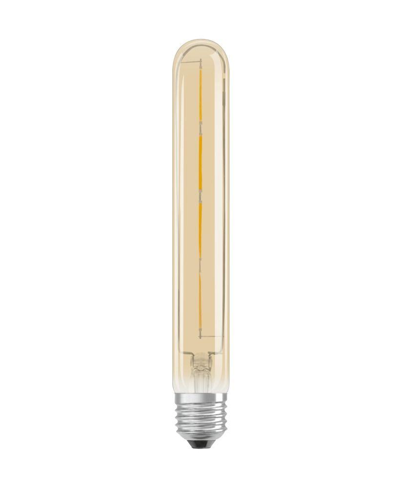 Osram Vintage 1906 LED E27 Tubular 4.5W 824 Goud | Dimbaar - Vervanger voor 35W