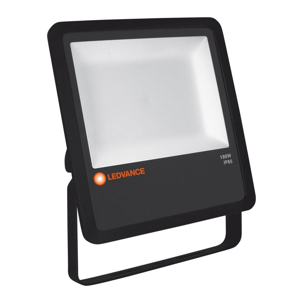 LEDVANCE LED flomlys 180W 4000K 20000lm IP65 svart | med sensor