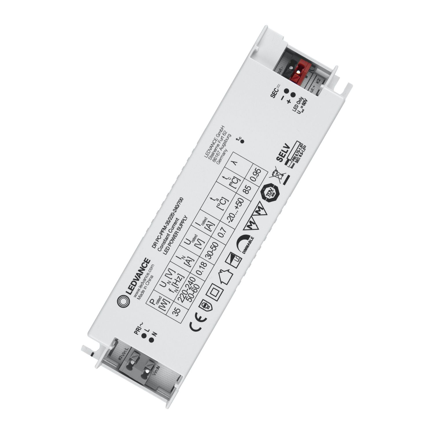 Ledvance Driver Performance 35W 700 PC