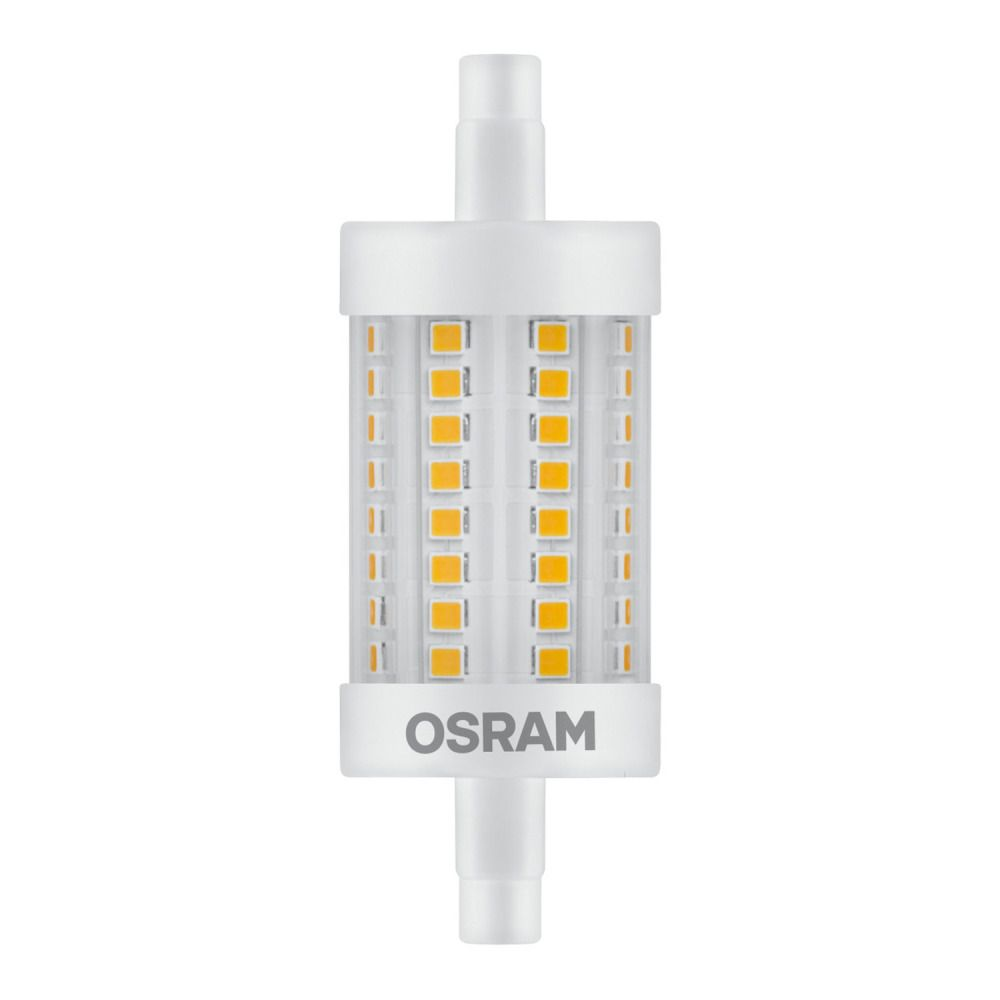 Osram LED Star Line R7s 8W 827 78mm | Replacer for 75W