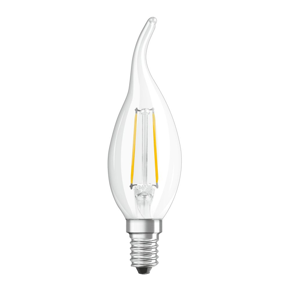 Osram Parathom Retrofit Classic E14 BA 4W 827 Filament | Erittäin Lämmin Valkoinen - Korvaa 40W