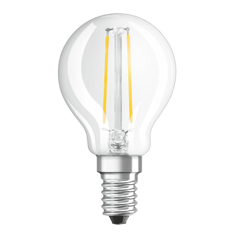 Osram Parathom Retrofit Classic E14 P 2.5W 827 Filament | Extra Warm White - Replaces 25W