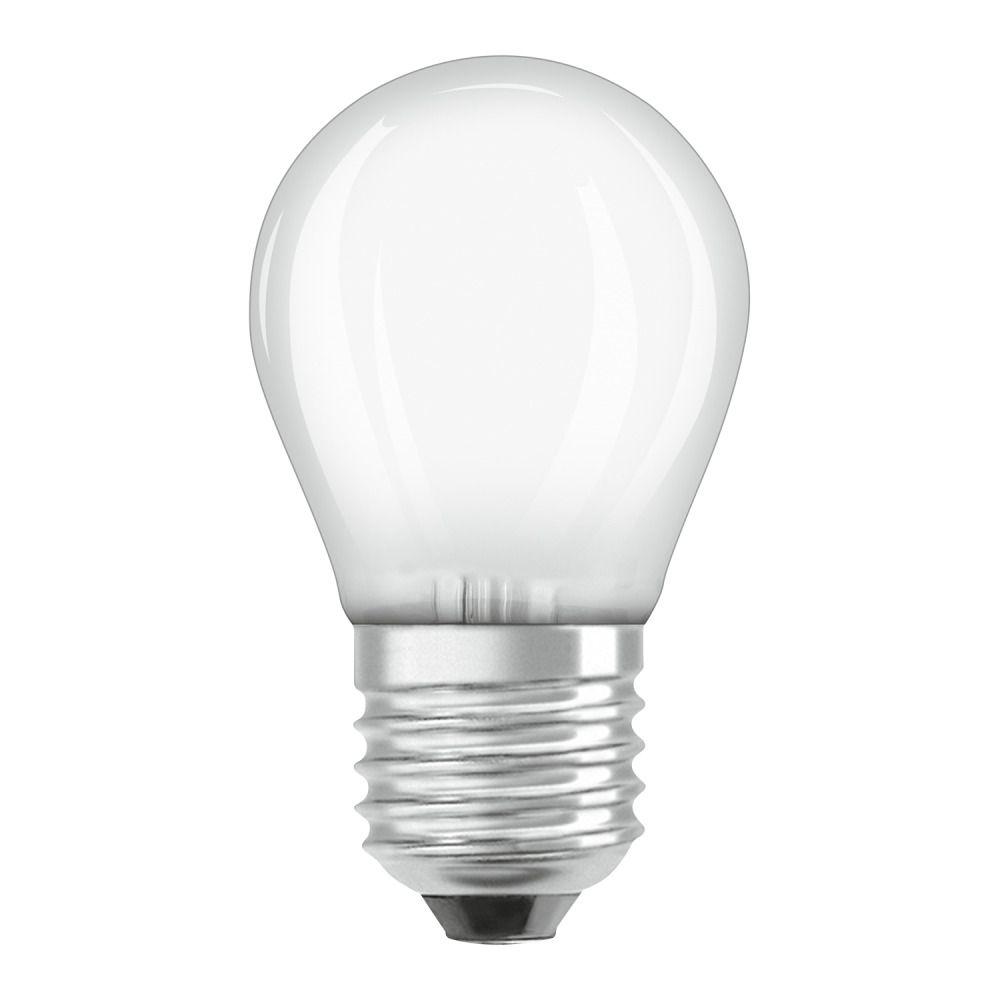Osram Parathom Retrofit Classic E27 P 4W 827 matt | ekstra varm hvid - erstatter 40W