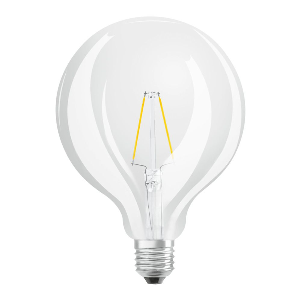 Osram Parathom Retrofit Classic E27 Globe 2.5W 827 Filament | Extra Warm White - Replaces 25W