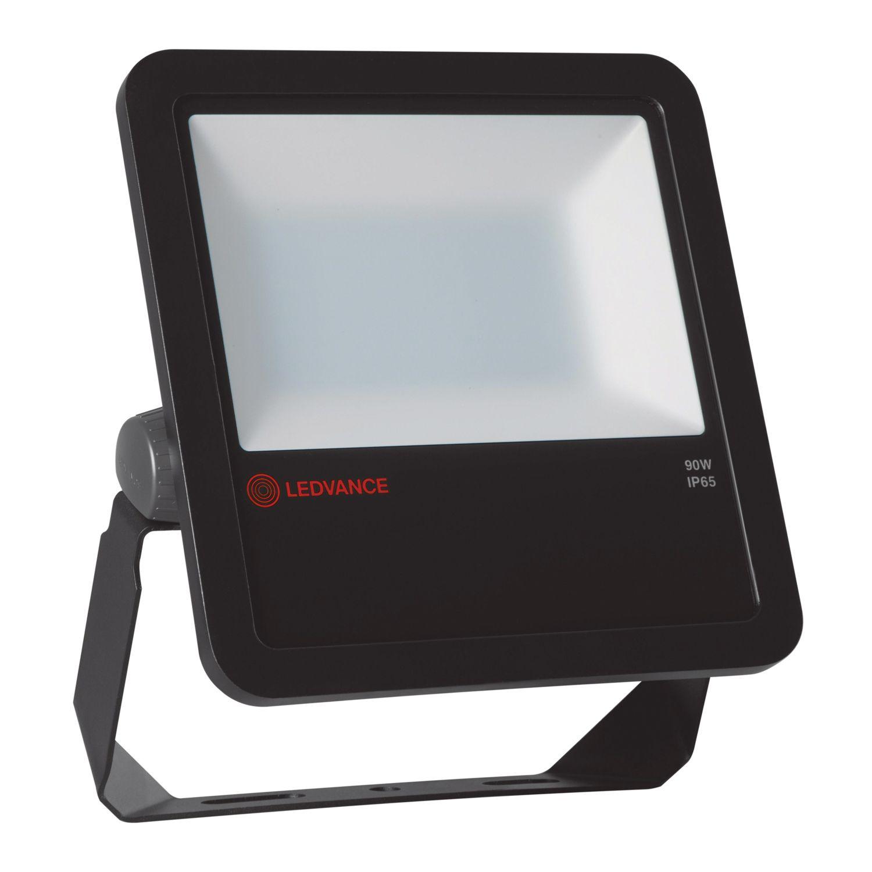 LEDVANCE LED-Scheinwerfer 90W 3000K 9400lm IP65 Schwarz