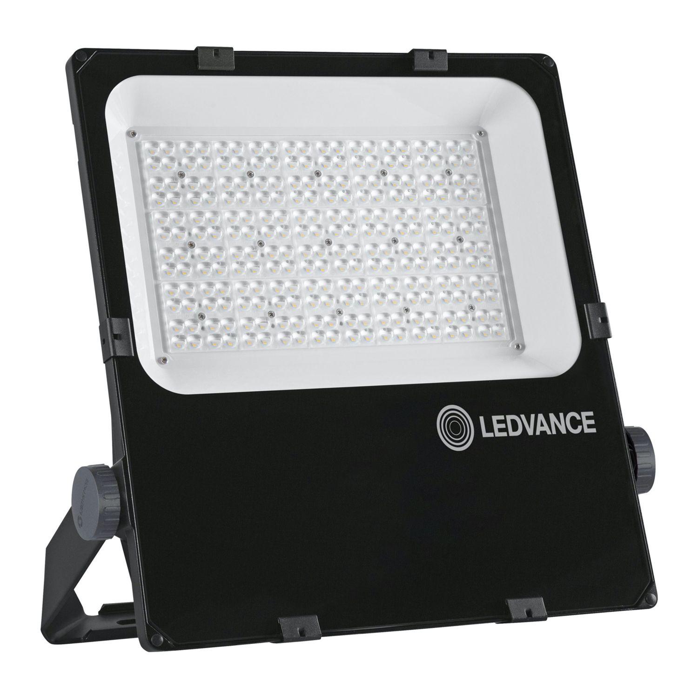 LEDVANCE LED-Scheinwerfer Performance 200W 3000K 24400lm IP66 Schwarz | Asymmetrisch
