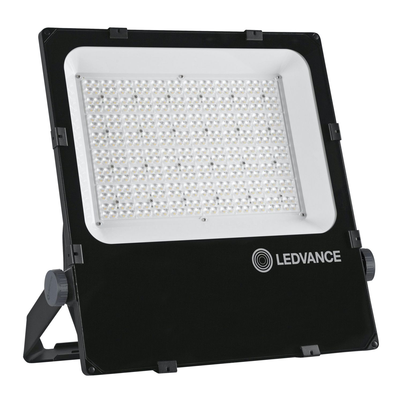 LEDVANCE LED-Scheinwerfer Performance 290W 4000K 38500lm IP66 Schwarz | Asymmetrisch