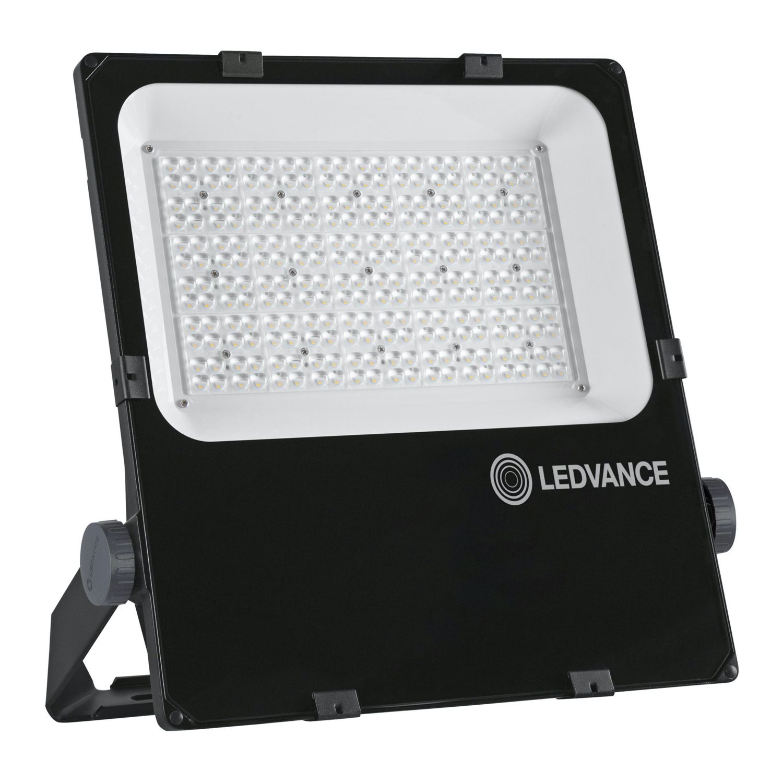 LEDVANCE LED-Scheinwerfer Performance 200W 3000K 24800lm IP66 Schwarz | Symmetrisch