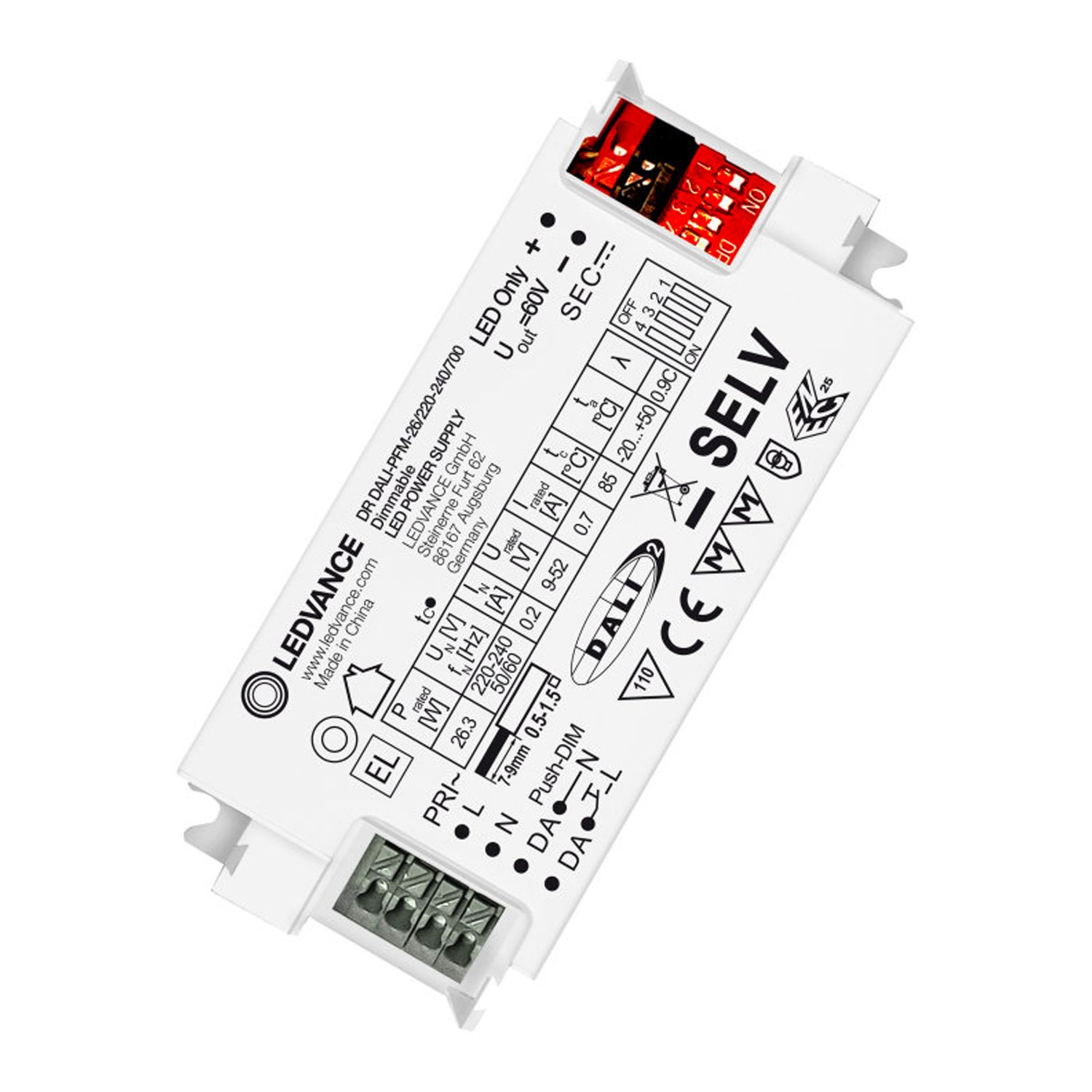 LedVance LED Driver Performance DALI 26W/220-240/700