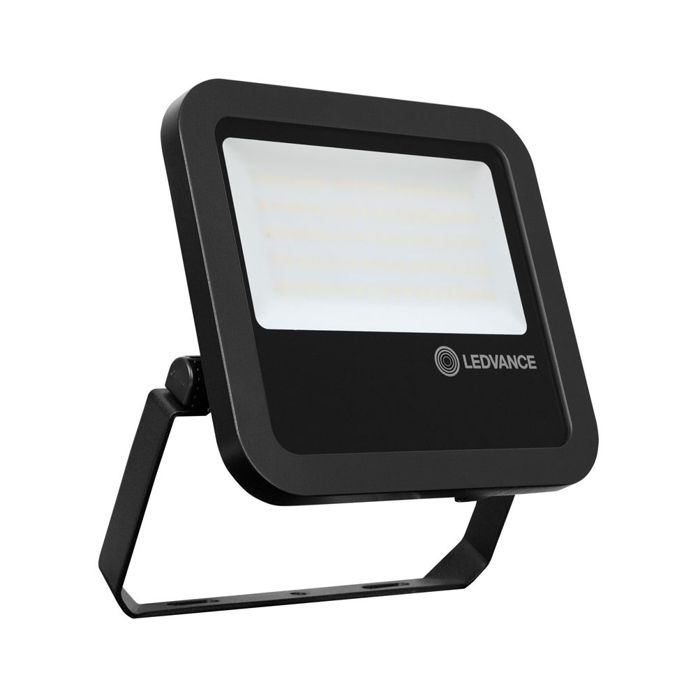 Ledvance LED Breedstraler 65W 3000K 7150lm IP65 | Zwart - Symmetrisch lichtbundel