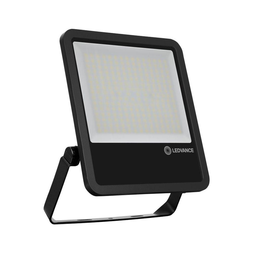 Ledvance LED Breedstraler 200W 6500K 25000lm IP65 | Zwart - Symmetrisch lichtbundel