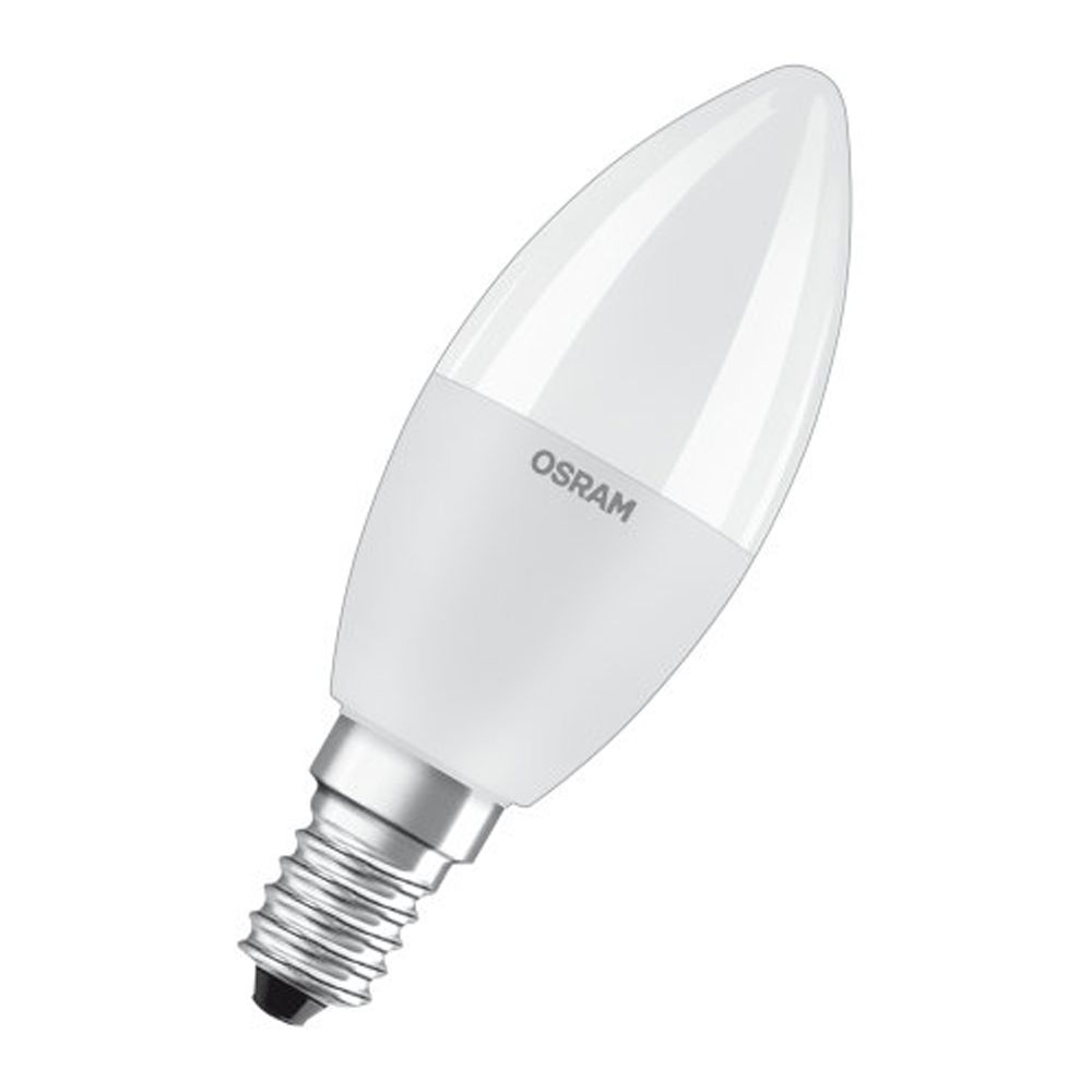 Osram LED Retrofit RGBW E14 B35 6W 827 470lm Frosted | Dimmable - Extra Warm White - Replaces 40W