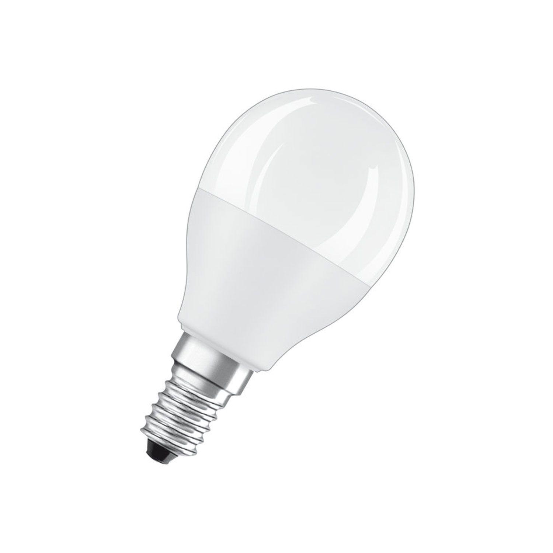 Osram LED Retrofit RGBW E14 B45 6W 827 470lm Dépolie | Dimmable - Remplacement 40W