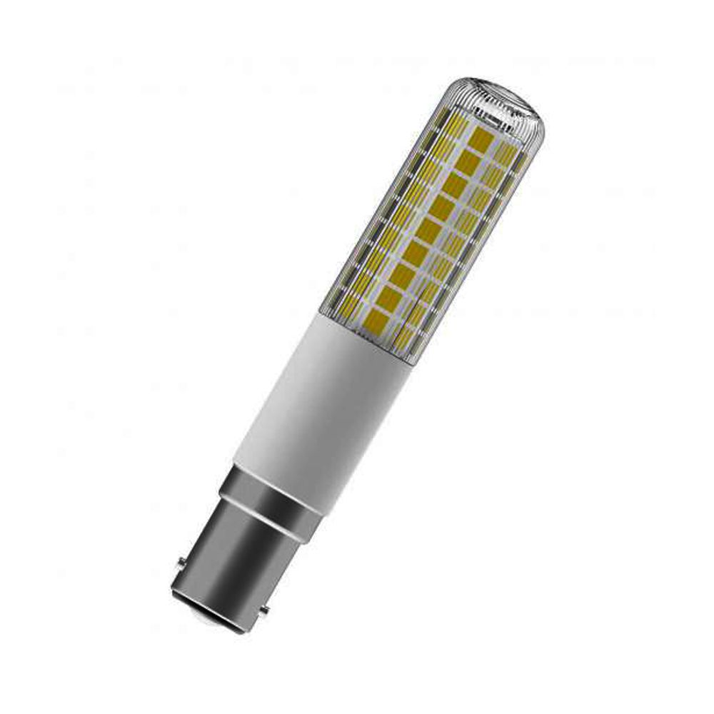 Osram Special T Slim B15d T26 8W 827 1055lm Clear | Dimmable - Extra Warm White - Replaces 75W