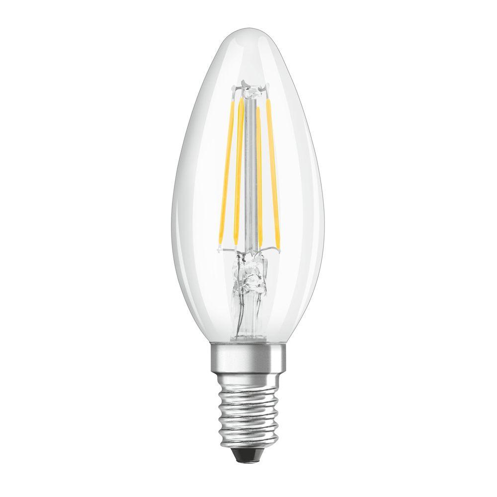 Osram Three Step Dim Classic E14 B35 4W 827 470lm Filament | Zeer Warm Wit - Vervangt 40W
