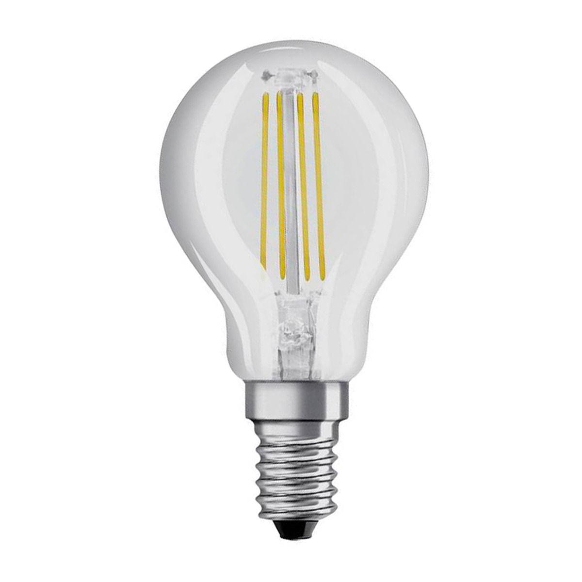 Osram LED Retrofit Classico E14 P 4W 840 Chiara | Bianco Freddo - Sostitua 40W