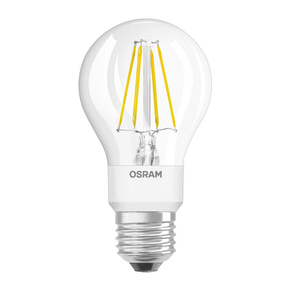 Osram Retrofit GLOWdim Classic E27 A60 7W 827 806lm Fadenlampe | Dimmbar - Extra Warmweiß - Ersatz für 60W