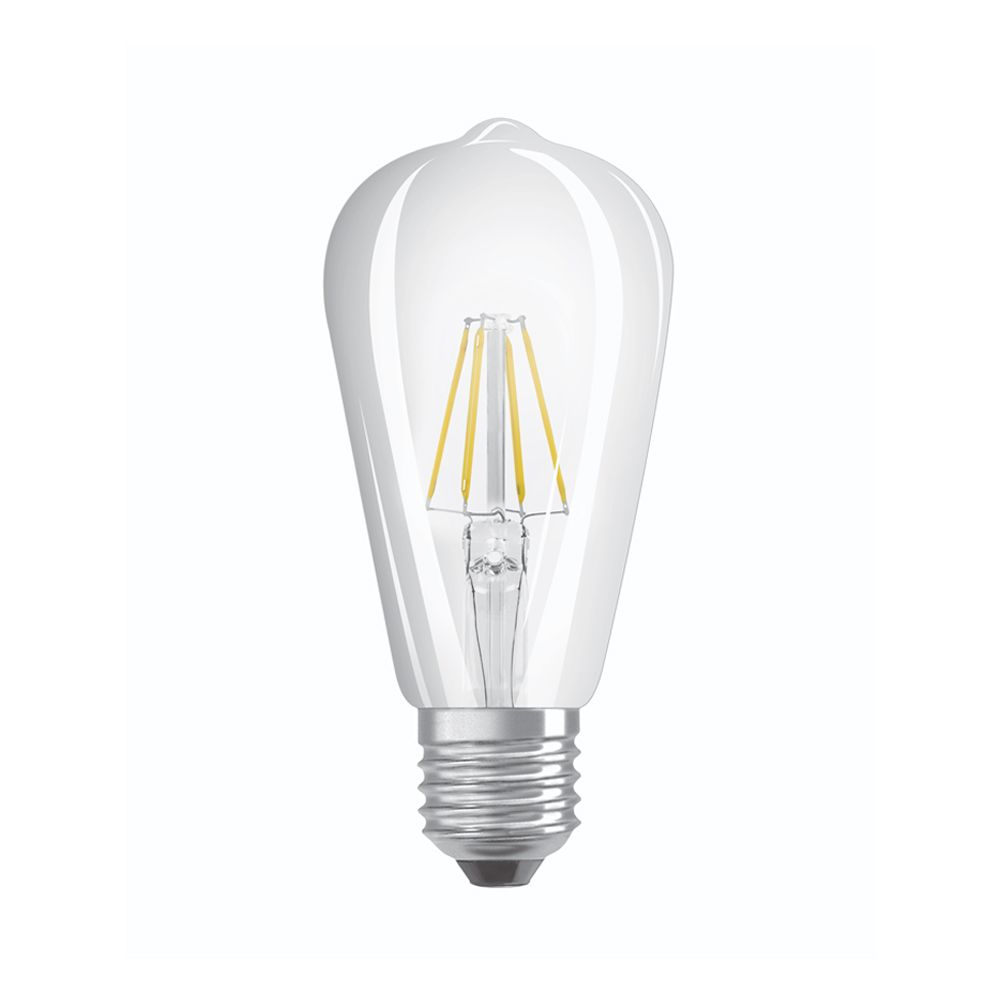 Osram Parathom Retrofit Classic E27 ST64 4W 827 470lm Clear | Extra Warm White - Replaces 40W