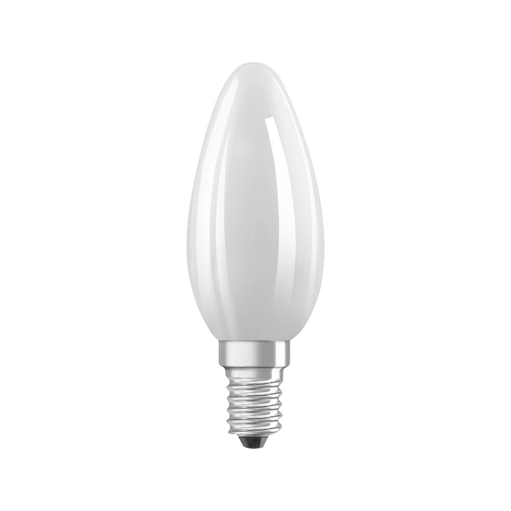 Osram Parathom Retrofit Classic E14 B35 6.5W 827 806lm Frosted | Dimmable - Extra Warm White - Replaces 60W