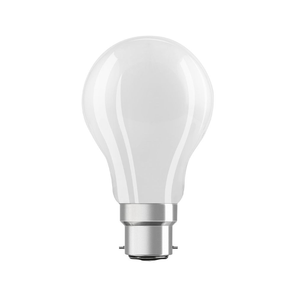 Osram Parathom Retrofit Classic B22d A60 7W 827 806lm Frosted | Dimmable - Extra Warm White - Replaces 60W