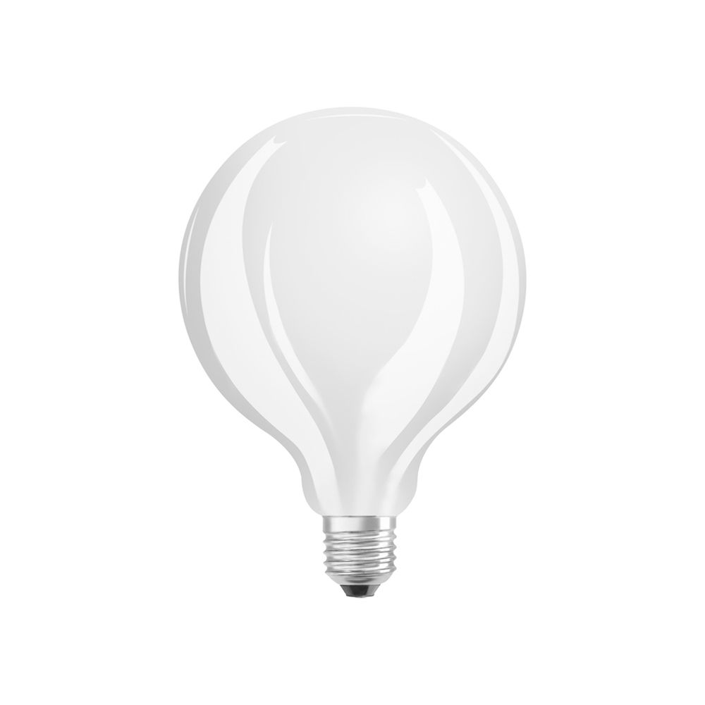 Osram LED Star Globe Classic E27 G95 12W 827 1521lm Mate | Regulable - Luz muy Cálida - Reemplazo 100W