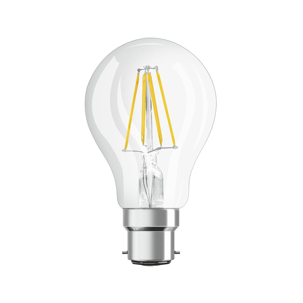 Osram Parathom Retrofit Classic B22d A60 7W 827 806lm Clear | Dimmable - Replacer for 60W