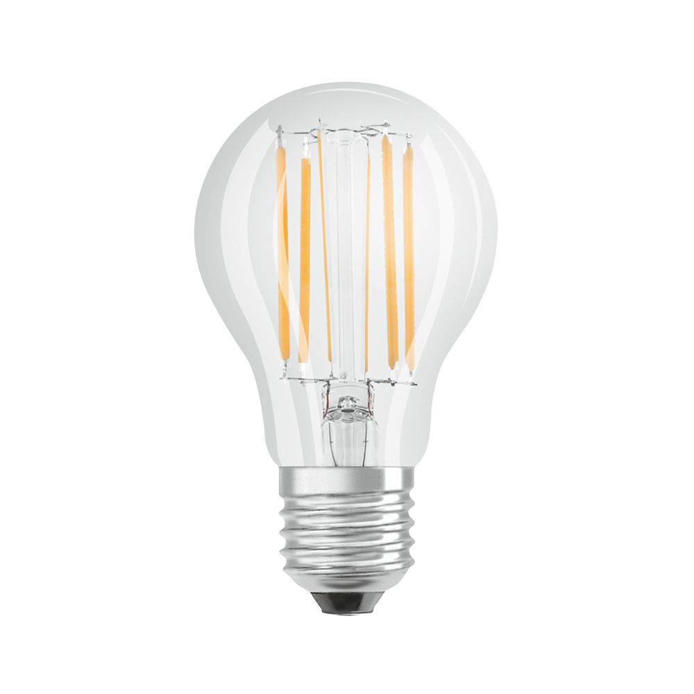 Osram Parathom Retrofit Classic E27 A60 9W 827 1055lm Clear | Dimmable - Extra Warm White - Replaces 75W