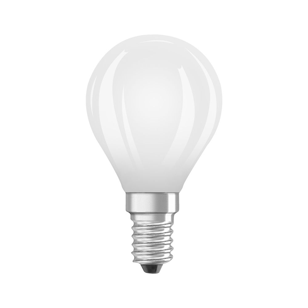 Osram Parathom Retrofit Classic E14 P45 3W 827 250lm Frosted | Dimmable - Extra Warm White - Replaces 25W