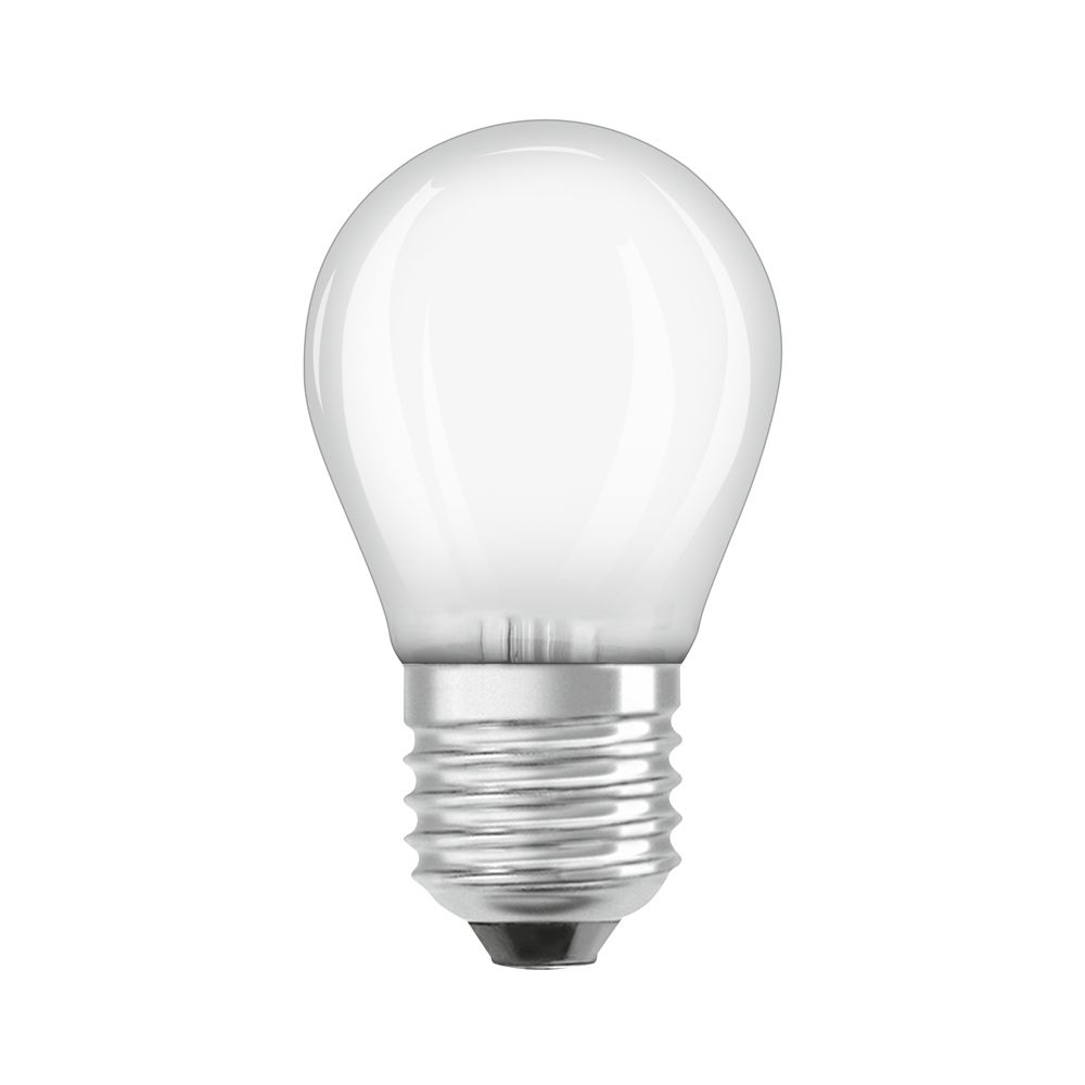 Osram Parathom Retrofit Classic E27 P45 4W 827 470lm Frosted | Extra Warm White - Replaces 40W