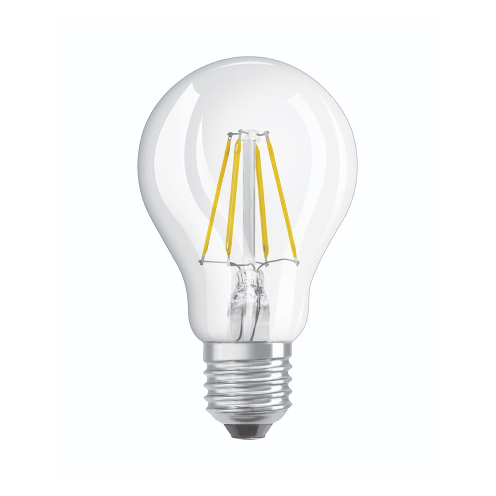 Osram Parathom Retrofit Classic E27 A60 4W 840 470lm Clear | Cool White - Replaces 40W