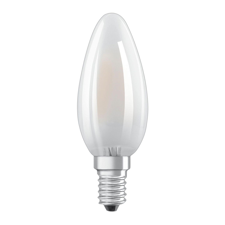 Osram LED Retrofit Classic E14 B40 4W 865 470lm Matt | Tageslichtweiß - Ersatz für 40W