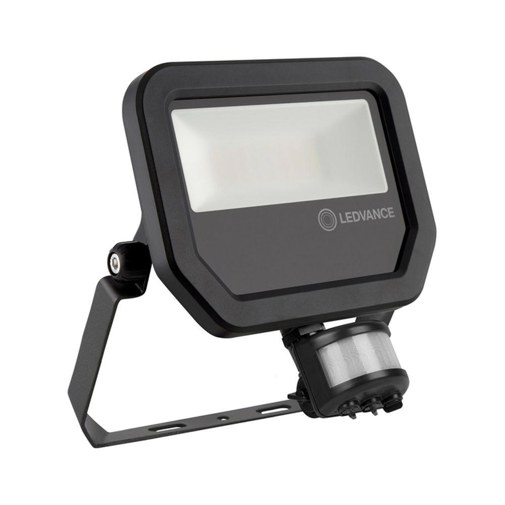 Ledvance Proyector LED 20W 4000K 2400lm IP65 | con Sensor - Negro - Simétrico