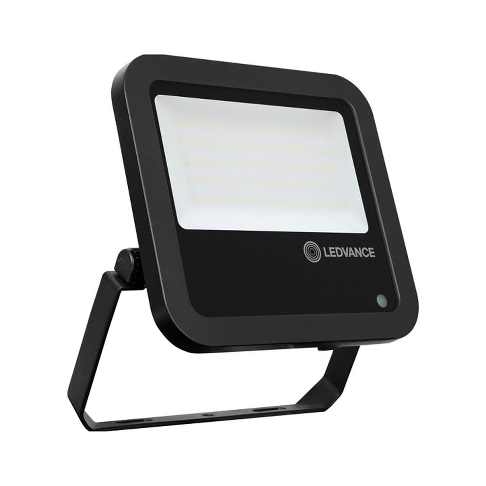 Ledvance LED Floodlight PhotoCell 65W 4000K 8000lm IP65 | Black - Symmetrical