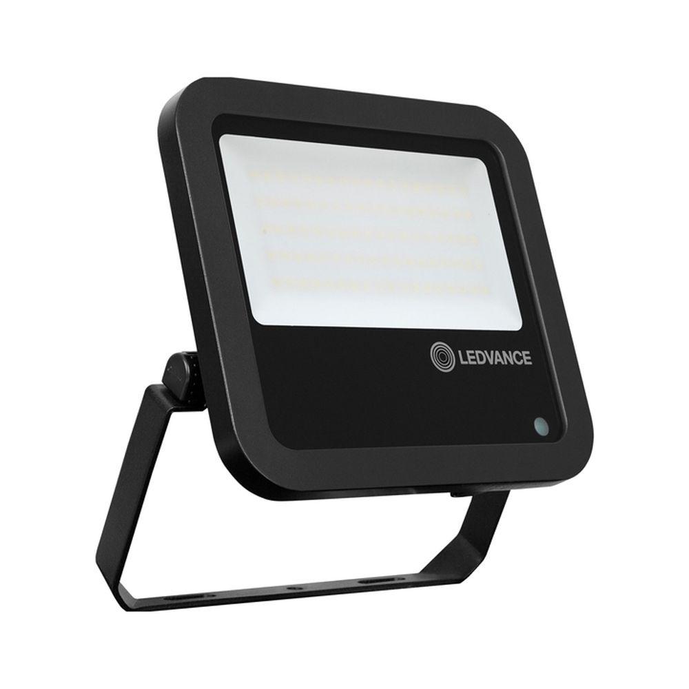 Ledvance LED Floodlight PhotoCell 80W 4000K 10000lm IP65 | Black - Symmetrical