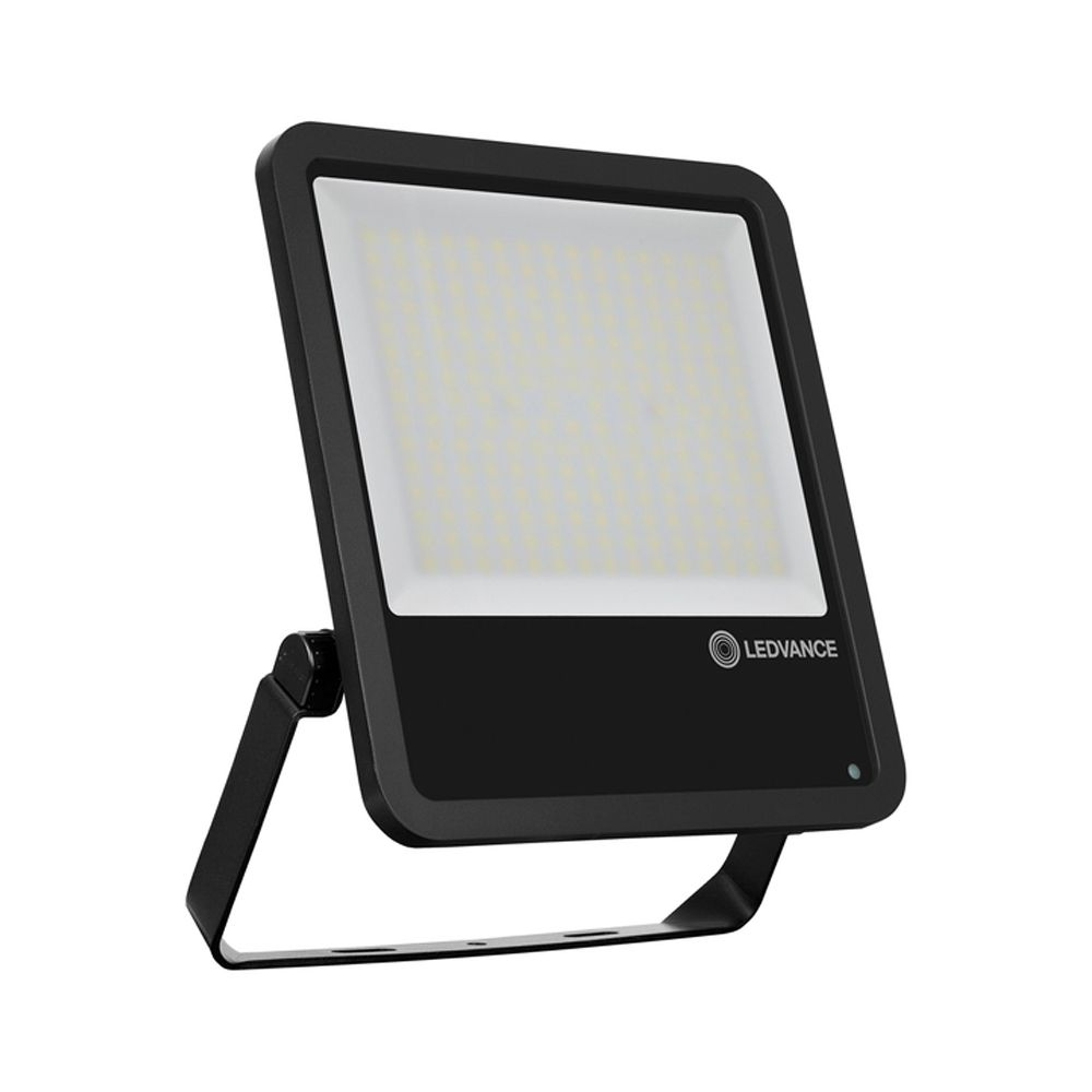 Ledvance LED Floodlight PhotoCell 200W 4000K 25000lm IP65 | Black - Symmetrical