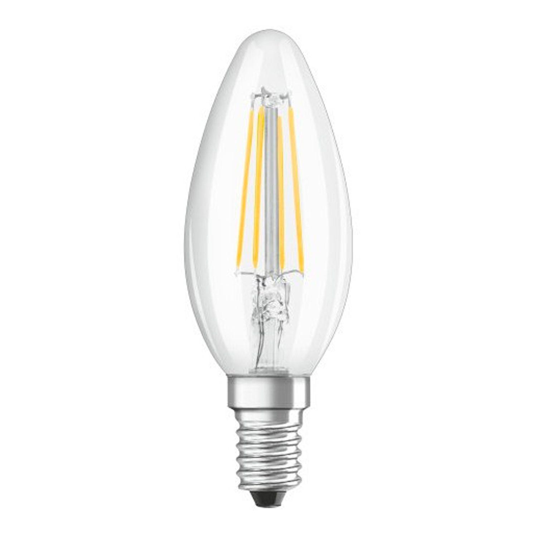 Osram LED Retrofit Classic E14 B40 4W 865 470lm Clear | Filament – Replacer for 40W