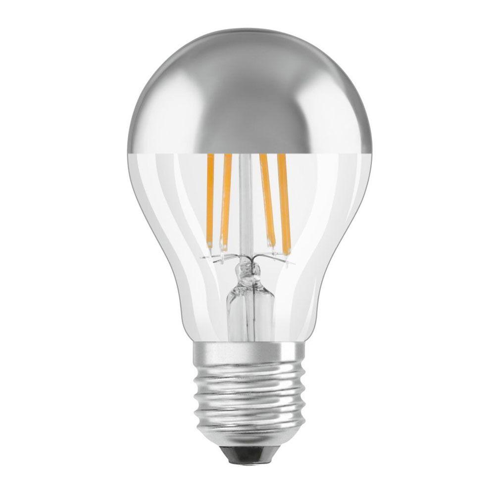 Osram LED Star Classic A E27 7W 827 Filament Spiegel | Ersetzt 50W