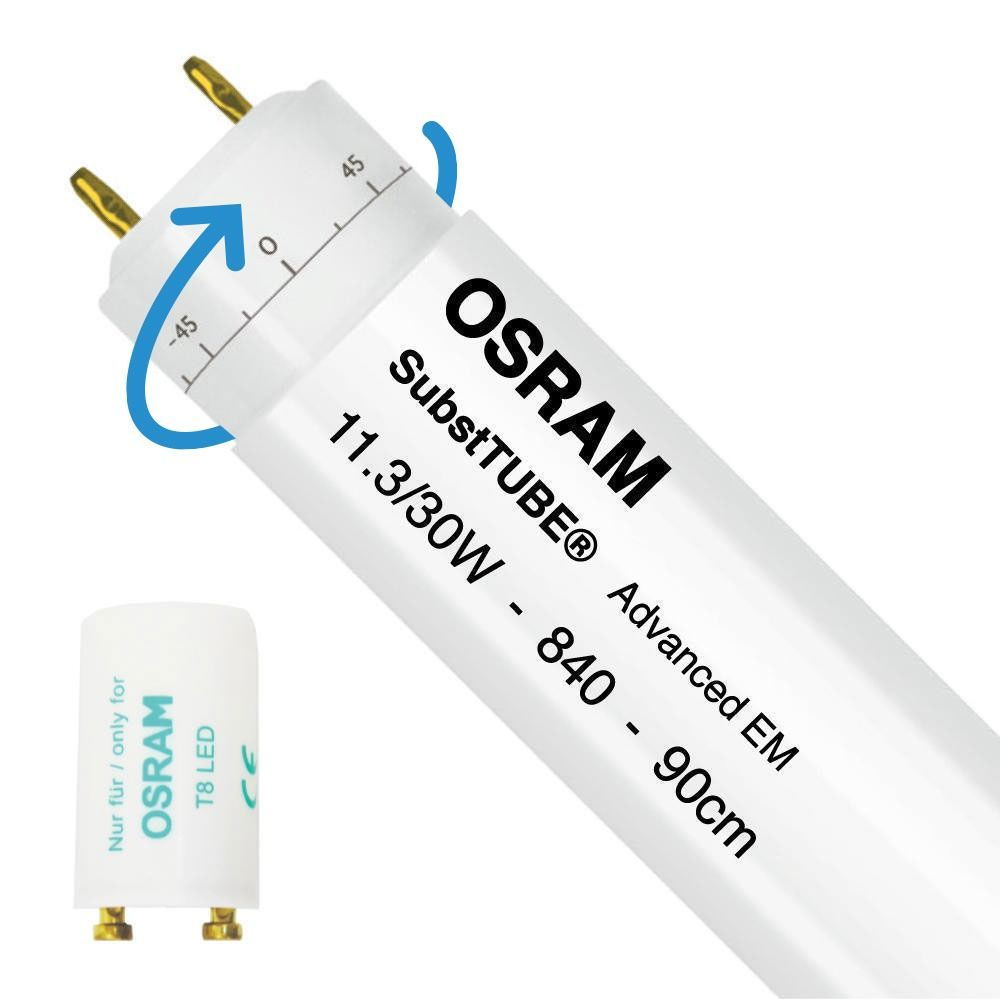 Osram SubstiTUBE Advanced EM 11.3W 840 90cm | Replaces 30W