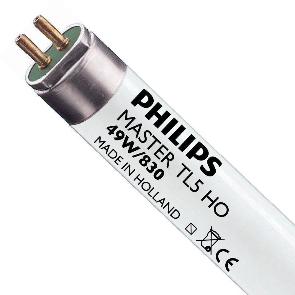 Philips TL5 HO 49W 830 (MASTER) | 145cm - Blanc Chaud