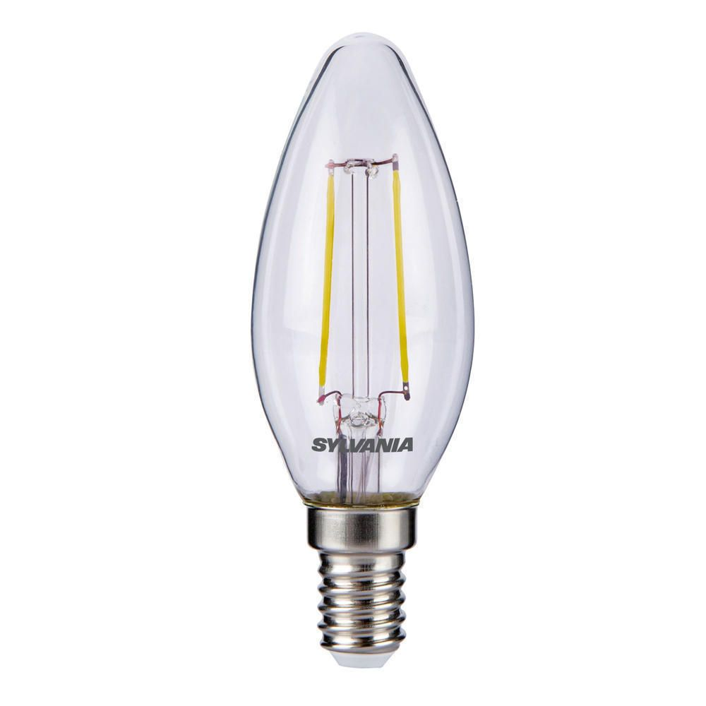 Sylvania ToLEDo Retro Candle E14 Clear 4W | Replaces 40W