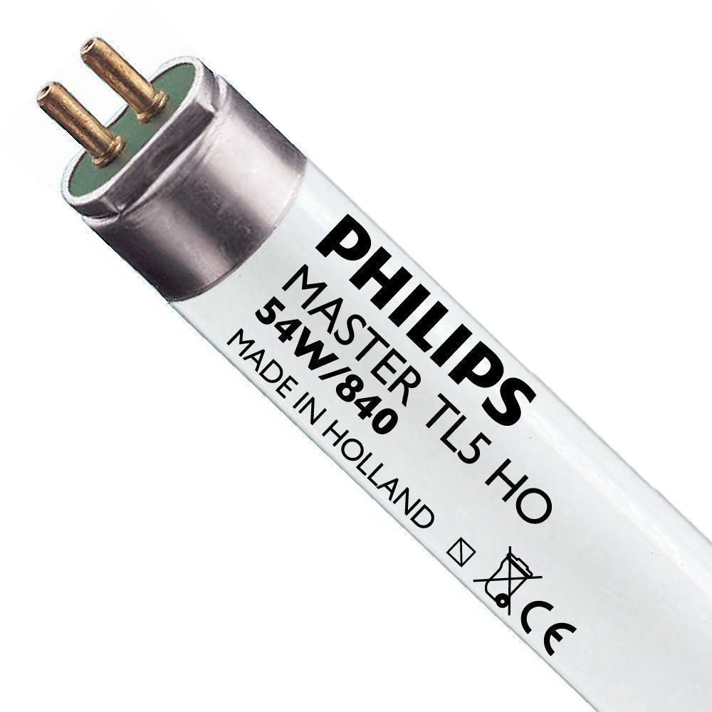 Philips TL5 HO 54W 840 (MASTER) | 115cm - Koel Wit