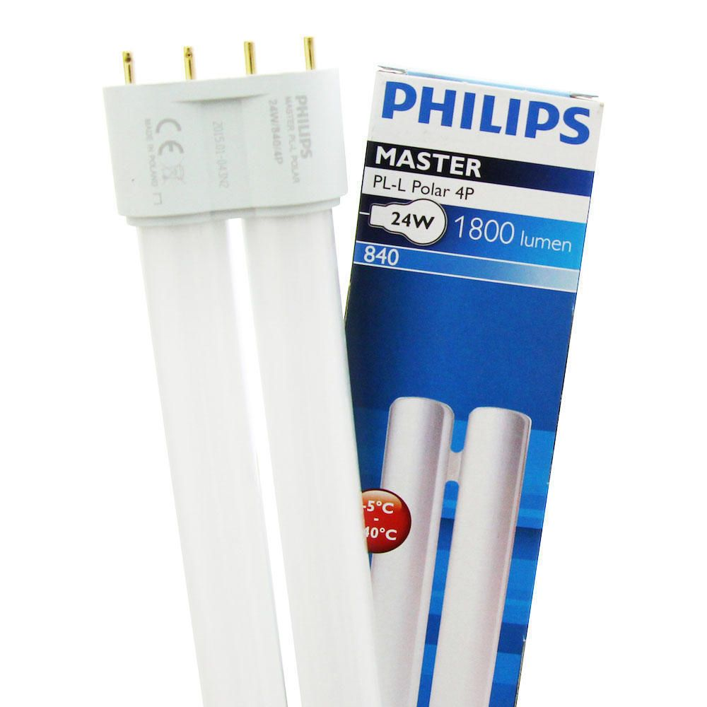 Philips PL-L Polar 24W 840 4P (MASTER) | Cool White - 4-Pin