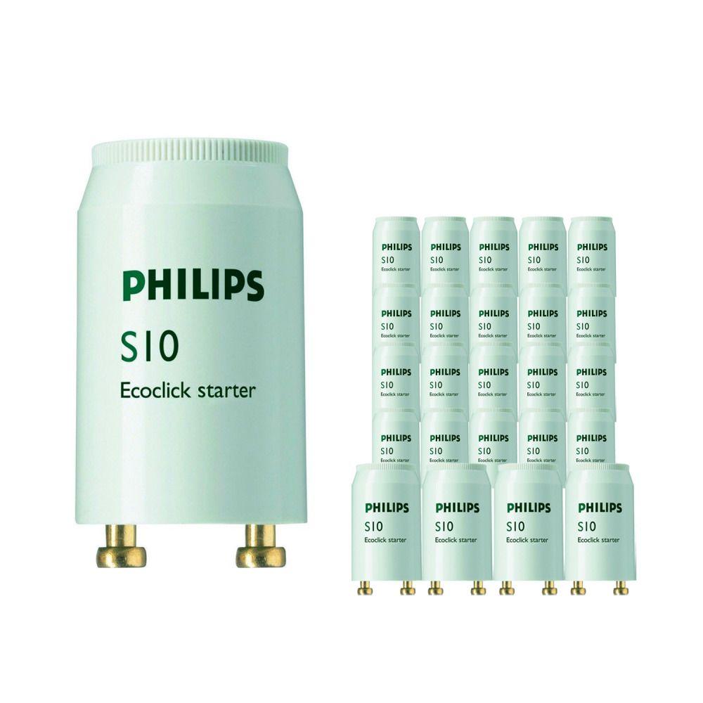 Multipack 25x Philips S10 Starter 4-65W SIN