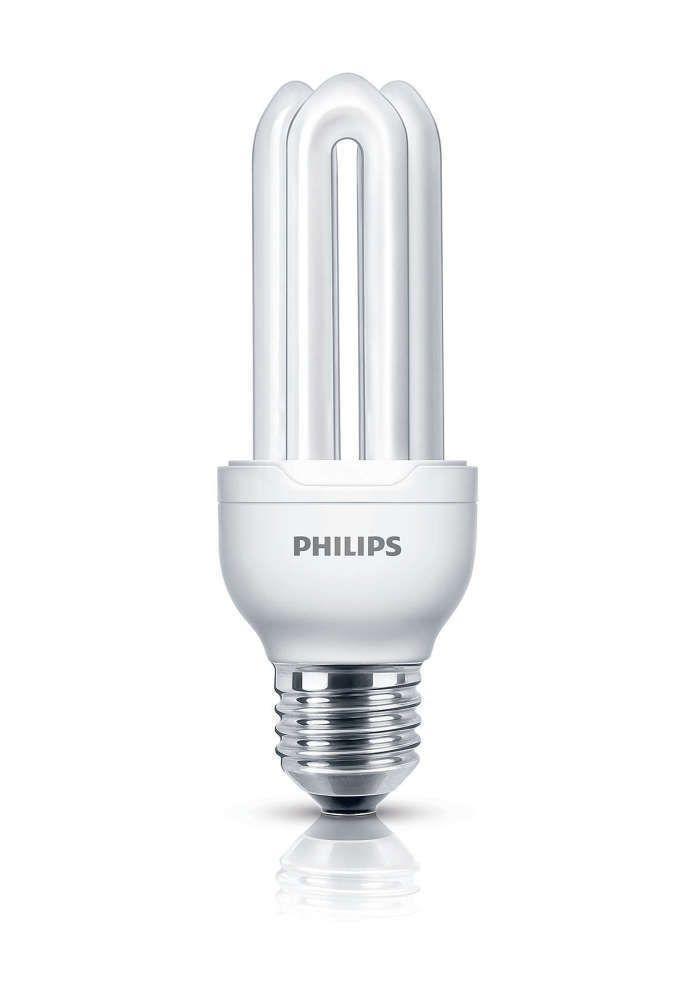Philips Genie ESaver 11W 827 E27 | ekstra varm hvid