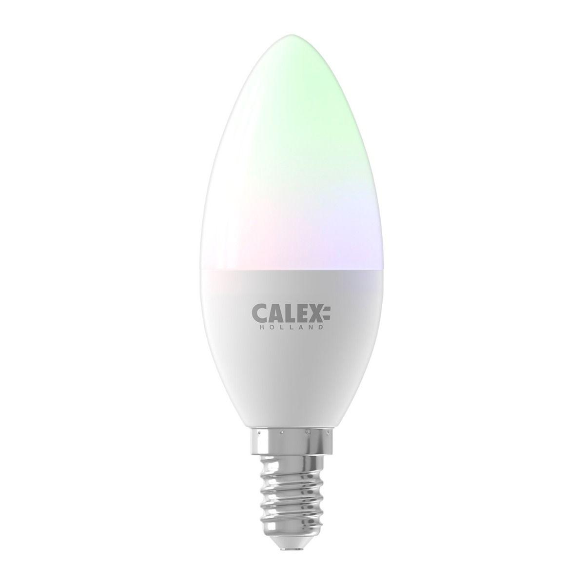 Calex Smart Kerze LED Glühbirne E14 5W 470lm 2200-4000K   Tuya Wifi