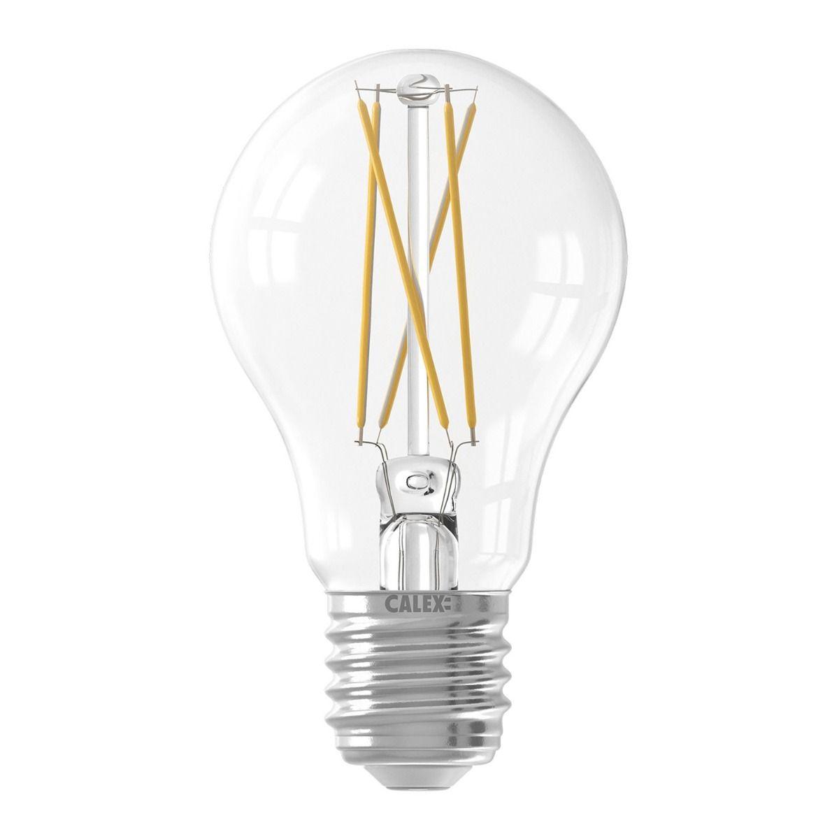 Calex Smart Standard LED Glühbirne E27 7W 806lm 1800-3000K Fadenlampe | Tuya Wifi