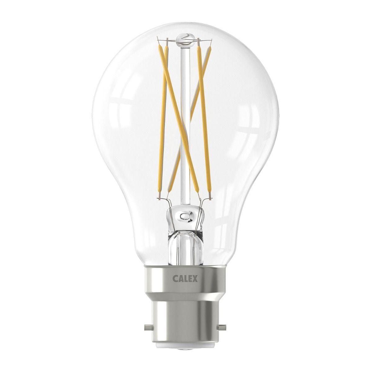 Calex Smart Standard LED Glühbirne B22 7W 806lm 1800-3000K Fadenlampe   Tuya Wifi